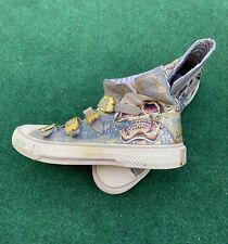 Christian Audigier High Top Sneakers Women's Tennis Shoe Sz 7