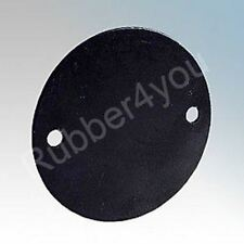 Pack of 10pcs 66mm dia. Round Solid Rubber Gaskets for Besa Box Conduit Fittings