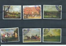 St Kilda stamps. 1969 Horse Paintings set used (CTO) (K064)