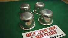 Jeep Willys CJ2A 3A M38 M38A1 CJ3B heavy hub cap kit These fit correctly!