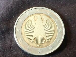 Piece De 2 Euro 2002 Aigle Frapper F