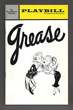 "Barry Bostwick ""GREASE"" Walter Bobbie / Jim Weston / Kathi Moss 1972 Playbill"
