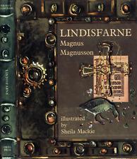 MAGNUS MAGNUSSON LINDISFARNE SHEILA MACKIE ILLUSTRATOR H/C D/J