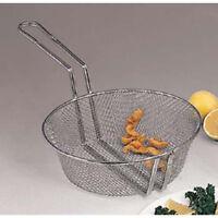 """Round Fry Basket - 12""""Diam., Fine Mesh"""