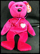 Collectible Valentina Bear Ty Beanie Baby Retired Errors