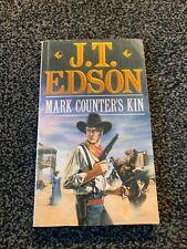 MARK COUNTERS KIN J.T.Edson 1990 paperback Corgi