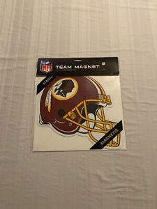 """Washington Redskins NFL Helmet Car Magnet 12"""" Fremont Die Brand New"""