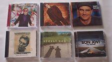 6 Male Adult Pop Rock CD Collection James Taylor Steely Dan Cetera McCartney