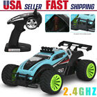 2.4Ghz Wireless Remote Control High Speed Electric RC Offroad Car Truck USA 2021
