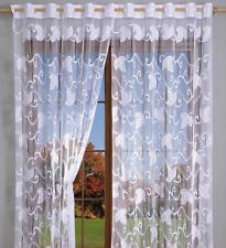 Very Nice White Net Curtain With Fringe 270x180cm Window Decoration