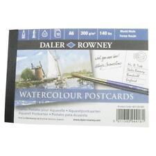 Daler Rowney Watercolour 12 Postcard Pad A6