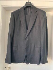 ERMENEGILDO ZEGNA Herren Anzug nach maß durchknöpfbar Größe 52