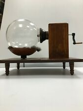 Hauksbee Electrostatic Generator. Reproduction