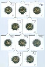 """BRD  2 Euro """"Adler""""  2002 - 2006, 2008, 2010 und 2011 ADFGJ PP   40 Münzen!"""