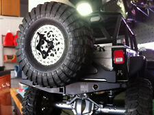 RC ROCK ARMOR - SCX10 Rear Bumper with Swingout Spare Tire Carrier RRA01RBS