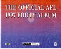 1997 Herald Sun AFL Official Photo card set with album (16)
