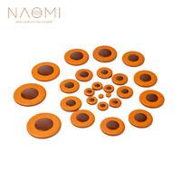 NAOMI 25Pcs Tenor Saxophone Pads Sax Leather Pads For Yamaha Saxophone Tenor Sax