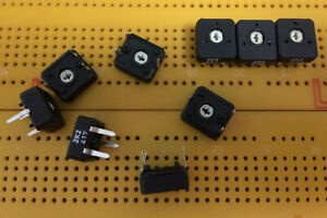 2.2kΩ  Lin 1-Turn Trimmer Potentiometer Horizontal Top Adj 10mm PNZ10 Multi Qty