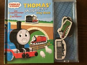 Thomas' Magnetic Play Book (with 9 magnets)