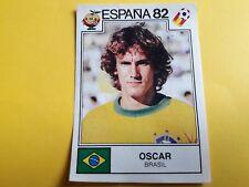 Album Panini ESPANA 82 Figurina n°369 OSCAR BRASILE BRASIL Soccer rec