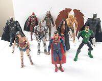"DC Multiverse 6"" action figure lot of 10 justic league movie heros 2016 Mattel"