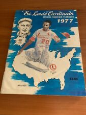 1977 St. Louis Cardinal Official Yearbook