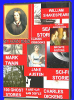 600 MP3 AUDIOBOOKS CLASSIC NOVELS SHORT STORIES TALES & AUTHORS  NEW CD DVDs