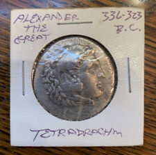 Alexander the Great Tetradrachm 336-323 BC VF Rare Ancient Coin Free Shipping!