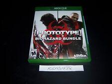 Replacement Case (NO  GAME) Phototype Biohazard Bundle XBOX ONE 1 XB1 Original