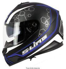 Casque Moto / Scooter Intégral S-Line S440 double visière noir bleu taille XL