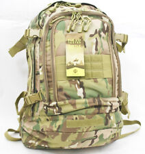 Multicam Improved 3 Day Tactical Gear Day Hiking Stretch Backpack Camo