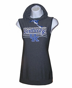 Ncaa Womens Apparel ** Kentucky Wildcats Ladies Ncaa Cross-Back Hooded T-Shirt