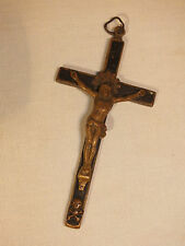 Ancienne Croix de Deuil -Petit Crucifix Napoléon III