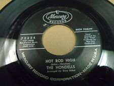 "Hondells Little Honda / Hot Rod High 7"" 45 rpm Mercury VG+"