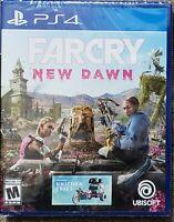 Far Cry: New Dawn (Sony Playstation 4, 2019) PS4 New!