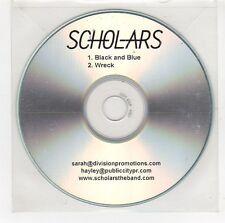 (GI70) Scholars, Black And Blue / Wreck - DJ CD