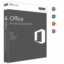 Microsoft Office Home and Student 2016 | Mac | Box NEU - OVP