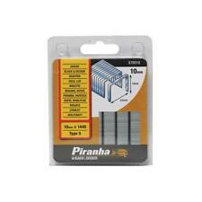 Black & Decker Piranha X70510 10mm Type 5 Flat Wire Staples Pack of 1440