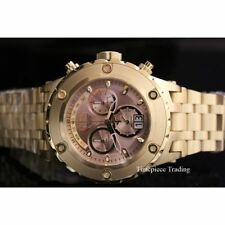 Silver Case Gold Plated Strap Adult Wristwatches