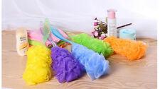 Hot Brand New Long Handle Bath Brush Soft Mesh Sponge Back Scrubber DUUK