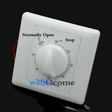 220V 10A 60 minute Timer Countdown Time Switch Control Panel F Water Pump Lamp