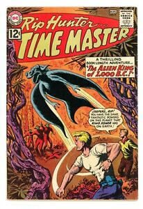 RIP HUNTER TIME MASTER #9  DC 1962 - Will Ely - VG+