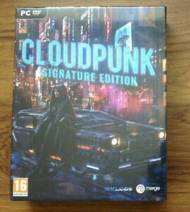 Cloudpunk (PC DVD) *Brand New Sealed* Big Box  RPG Adventure Video Game for PC