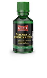 Ballistol ® 23630 Schnellbrünierung, Waffenpflege, 50 ml Flasche