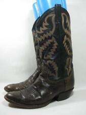 Vintage Panhandle Slim Western Cowboy Boot Men size 9 D