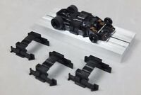 Viper HO Slot Car Parts - Tyco 440x2 Wide-Pan Hard Body Clips - 3 each - NEW !!!