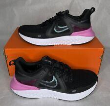 Nike Legend React 2 Black/Cool Grey AT1369-004 Psychic Pink Women's Size 7.5-9.5