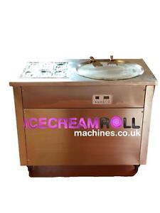 Thai Fried Ice Cream Roll Machine Single Pan 6 Compartments**UK**