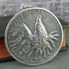 Israel- Bring Back My Sons & Daughters Sterling Silver Medal Coin Pendant