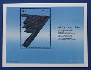 Palau (#405) 1996 America's Super Plane B-2 sheet (MNH)